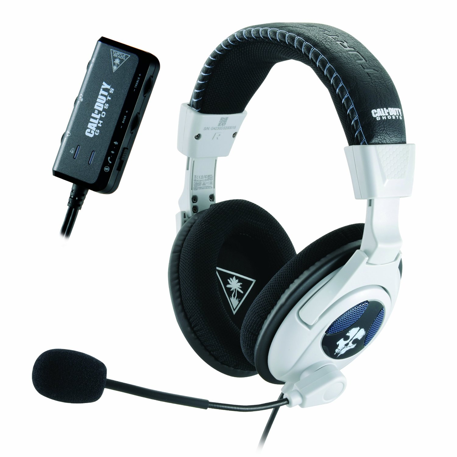 Call Of Duty Ghosts Headset Collection Review Ear Force Spectre Sony Playstation 4 Ps4 Cod Limited Edition Non Dvd Shadow 1