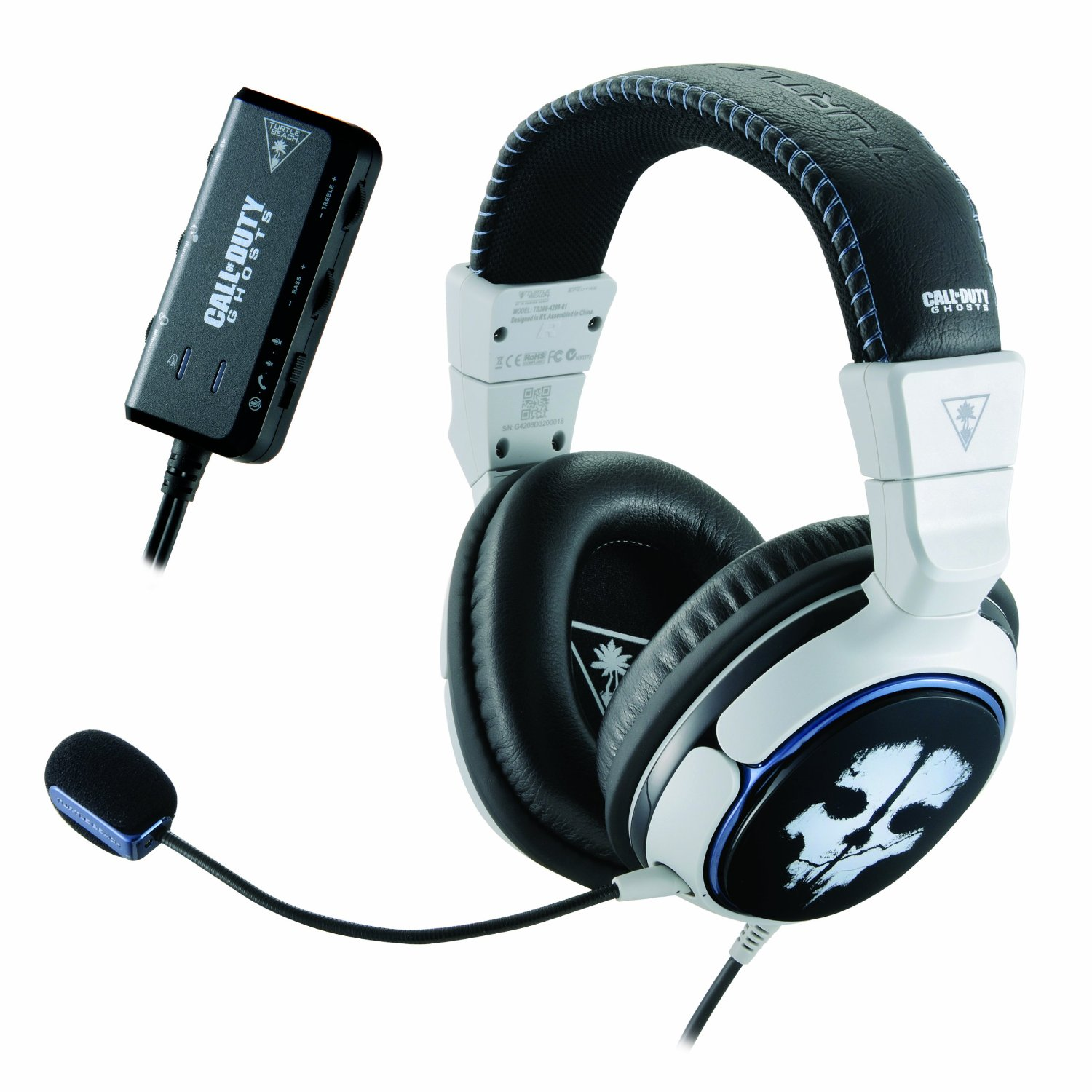 Call Of Duty Ghosts Headset Collection Review Ear Force Spectre Sony Playstation 4 Ps4 Cod Limited Edition Non Dvd