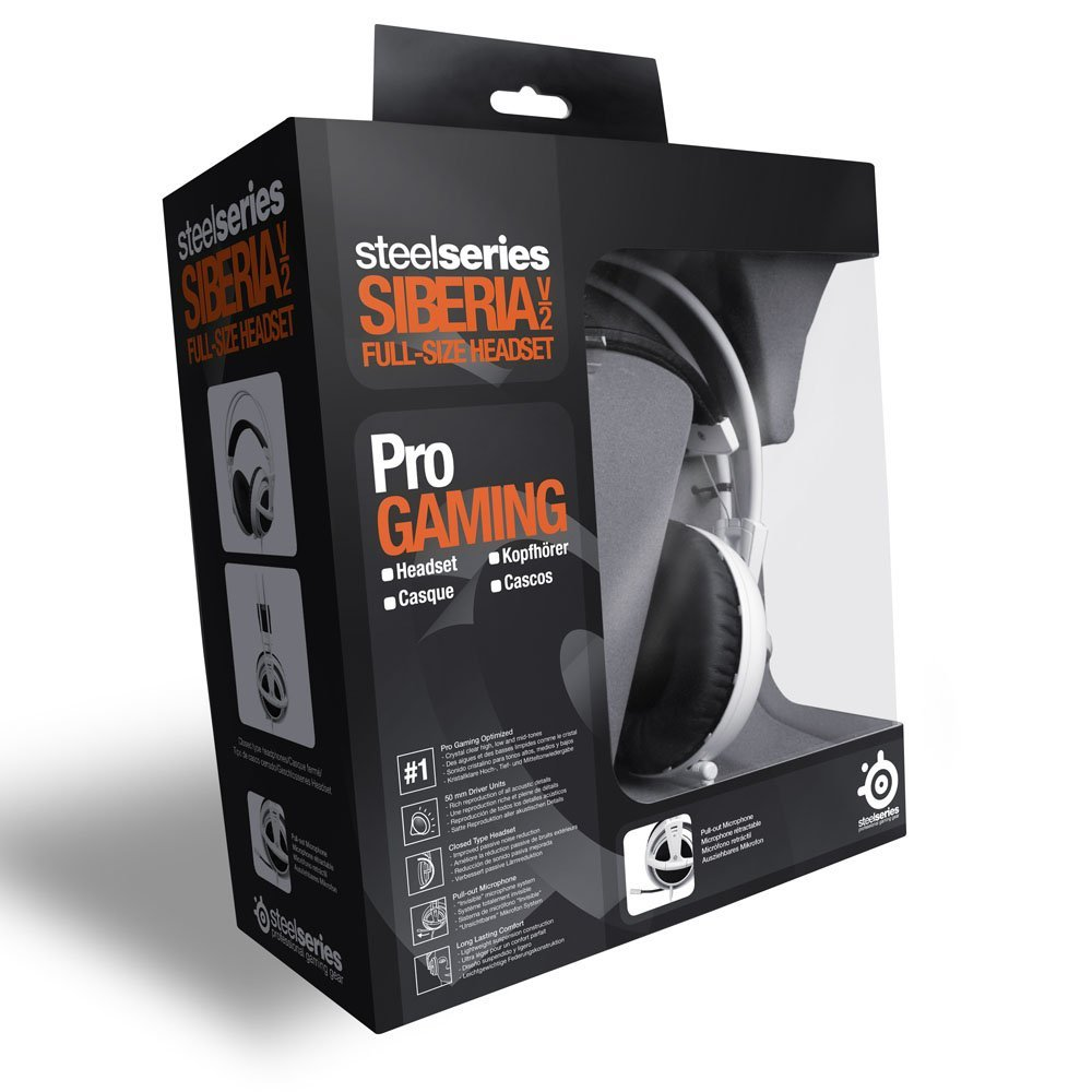 Steel Series Siberia V2 Full Size Headset 6