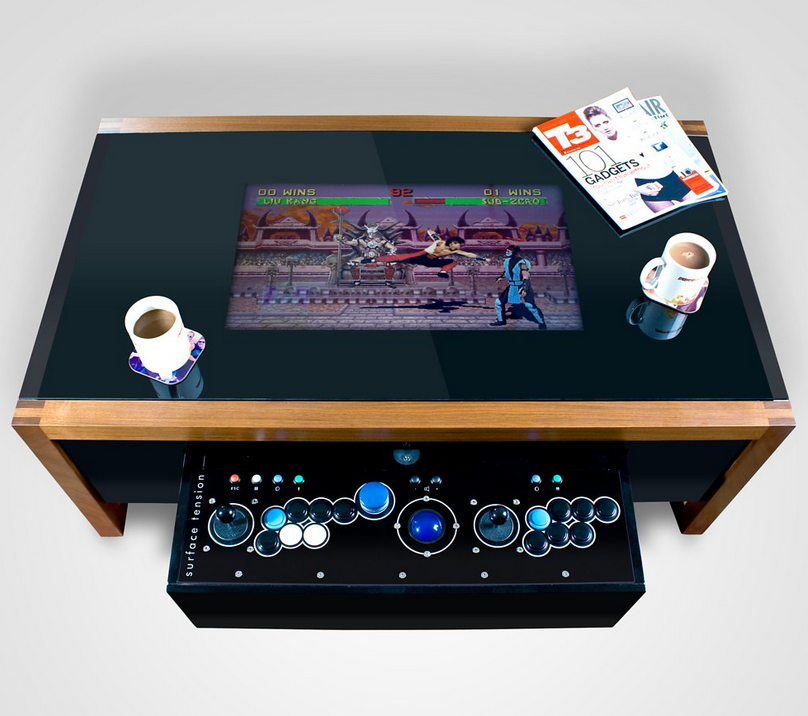Arcane Arcade TableRetro Table For Retro GamersTheGamersRoom