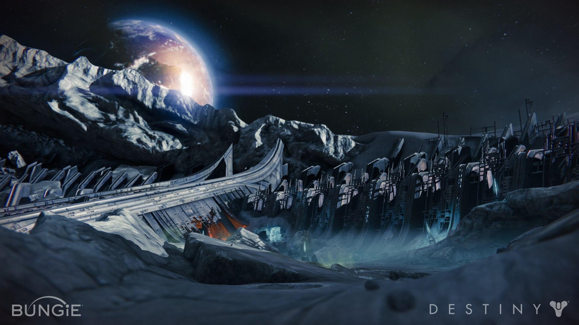 Destiny wallpaper bungie destiny artwork2 jpg - Destony Moon Shot