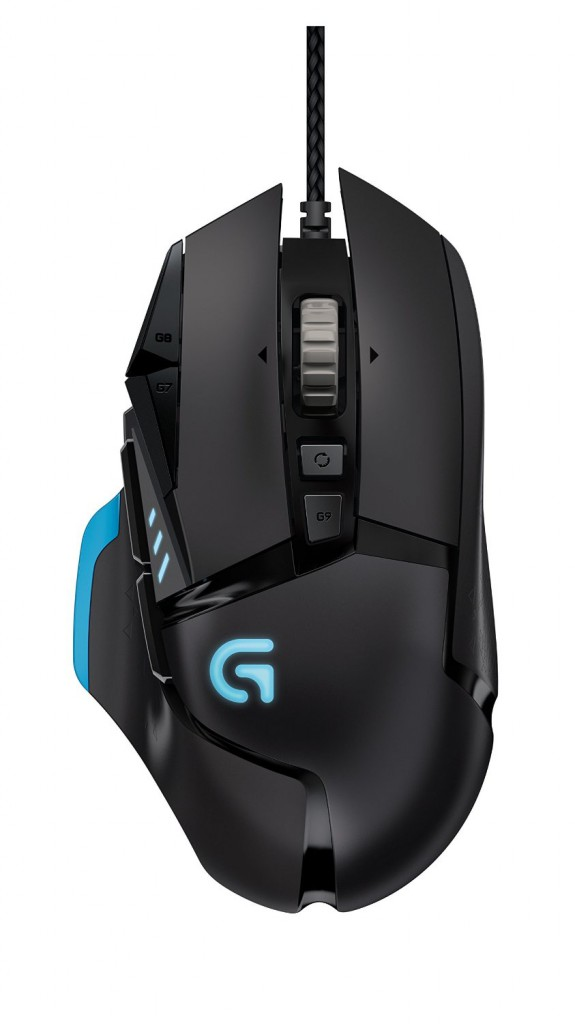 Logitech G502 Proteus Core Tunable Gaming Mouse 1