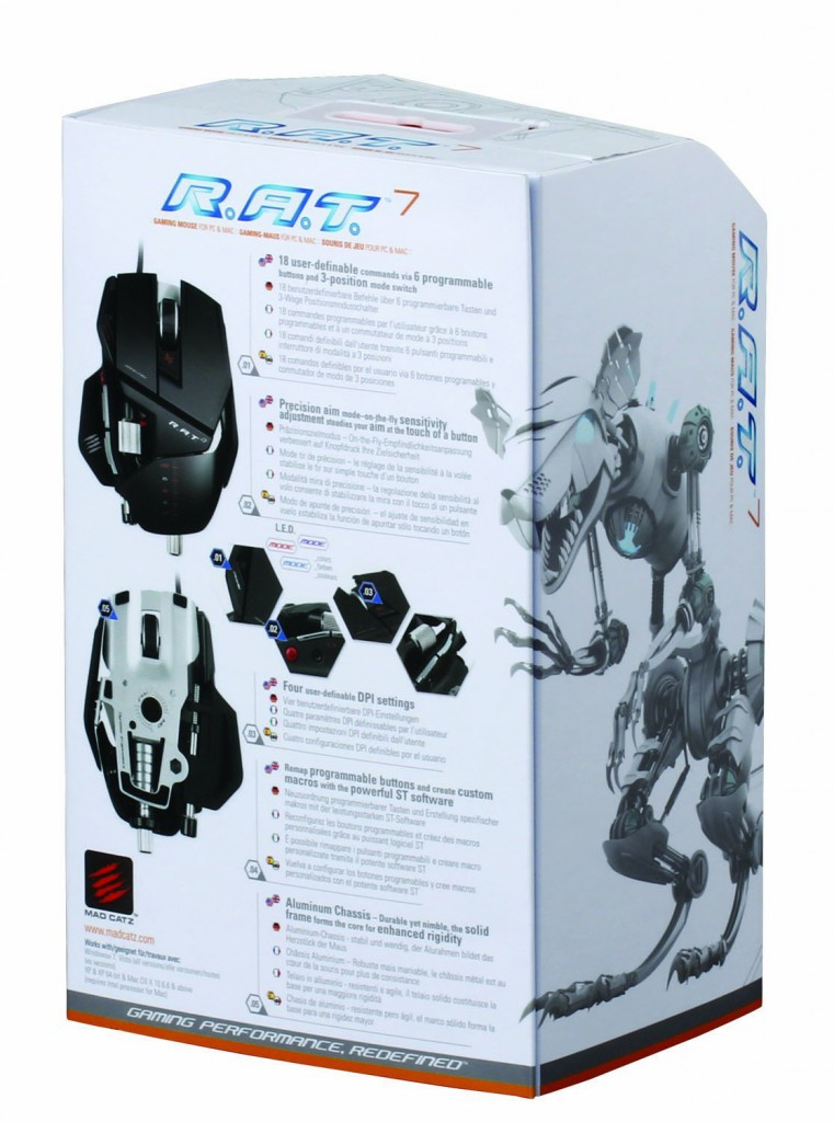Mad Catz R.A.T.7 Mouse 6