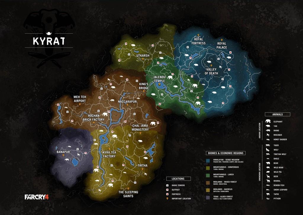 Full Map ofKyrat