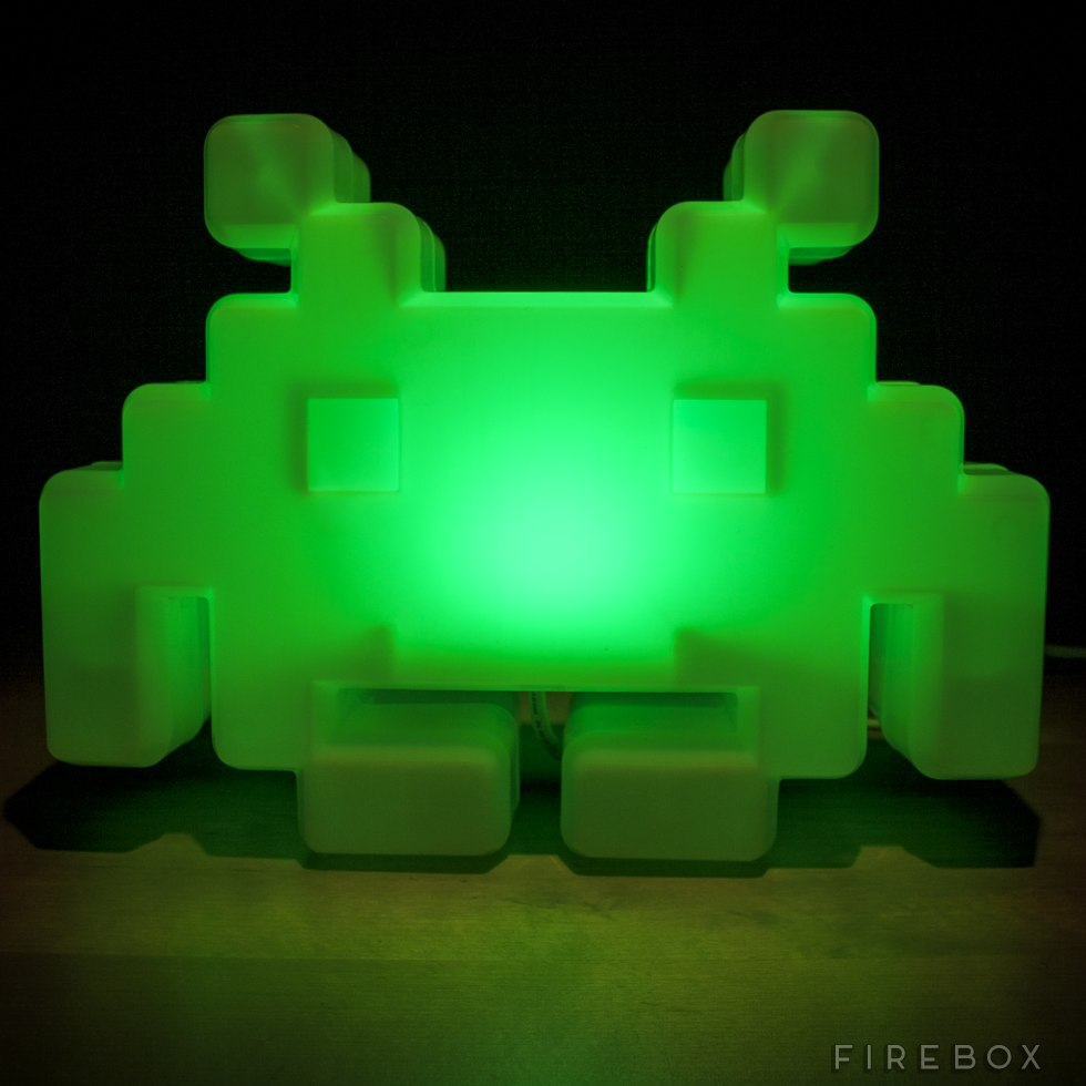 Space Invaders Alien Lamp