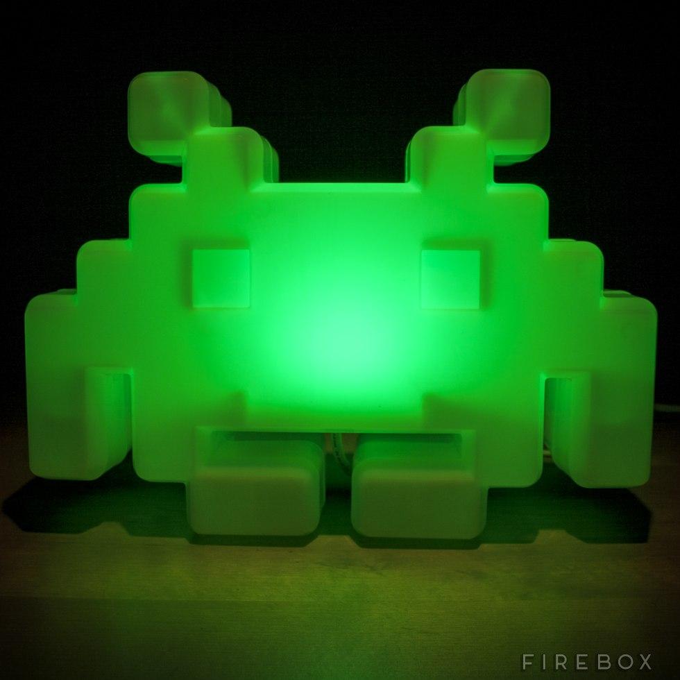 Space Invaders Alien Lamp