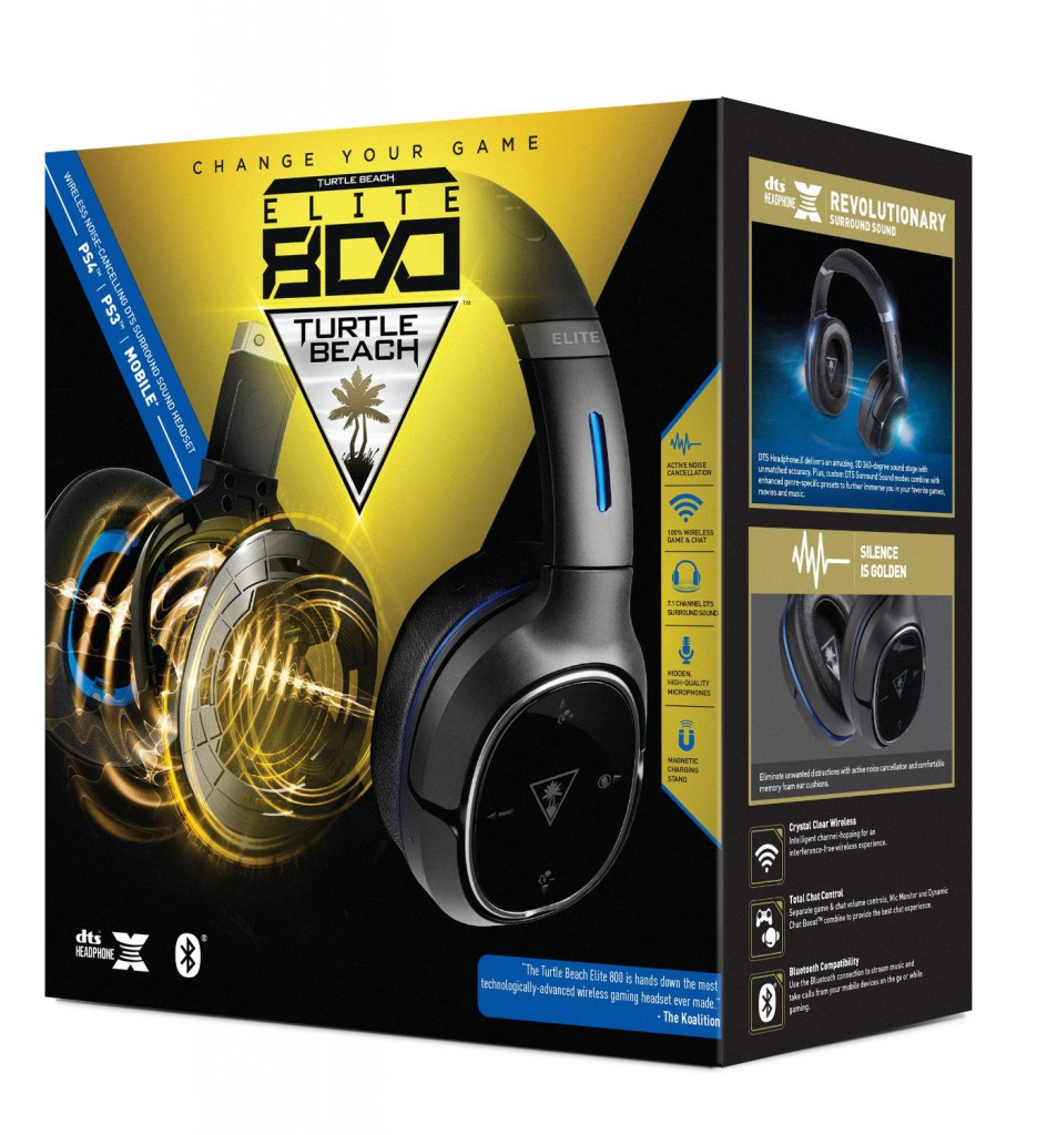 Turtle Beach Elite 800 Premium Wireless Headset 5