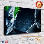 Arkham Asylum Canvas Print