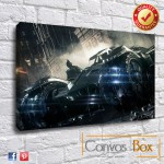 Batman Arkham Canvas Print