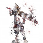 Cloud Strife Kingdom Hearts Print Subject Art