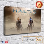 Halo 5 Canvas Art