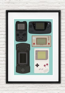 Portable Console Print Handz