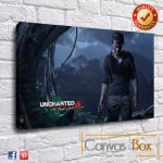 Uncharted 4 Canvas Print