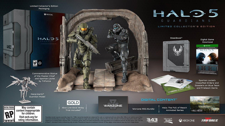 Halo5Collectors Edition Statute
