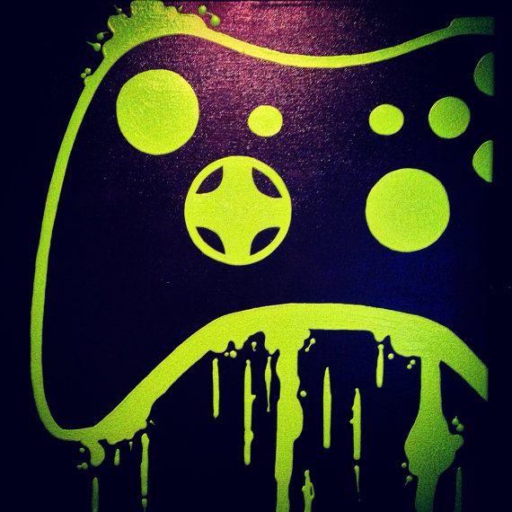 Video Game Controller Art  5
