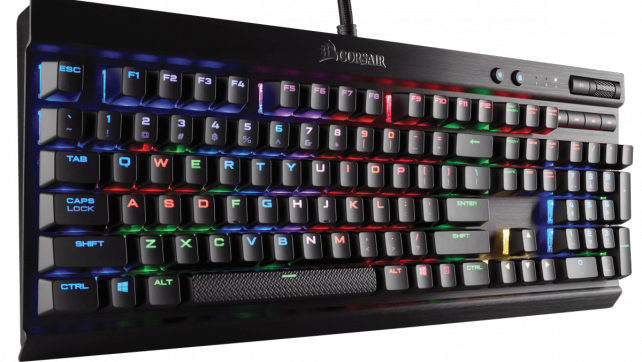 Corsair Gaming K70 RGB RAPIDFIRE Mechanical Keyboard Cherry MX Review
